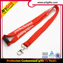 Customized souvenir aviation lanyards