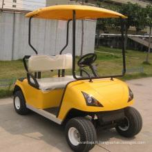 CE approuvé Chine siège 2 batterie chariot de Golf motorisé (DG-C2)