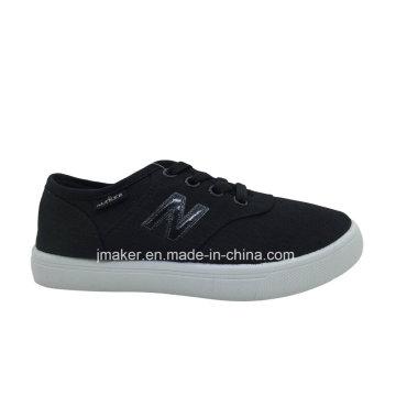Good Quality Classic Kid′s Walking Canvas Shoe (L099-S&B)