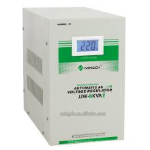Regulador / estabilizador de voltaje purificado preciso de la serie de la sola fase de Jjw-5k