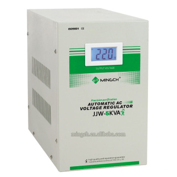 Custom Jjw-5k Single Phase Series Precise Purified Voltage Regulator / Stabilizer