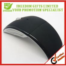 Souris sans fil pliable imprimée adaptée aux besoins du client promotionnelle