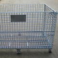Heavy Duty Stackable Steel Mesh Storage Cage