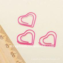 meta clipe clipe de papel em forma de coração