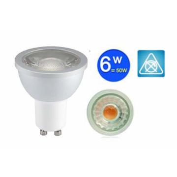 Коммерческий потолок GU10 COB Spotlight 6W Dimmable