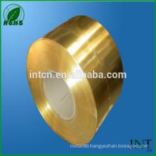high performance copper zinc alloy brass tape