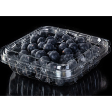 RPET blueberry box for blueberry packaging