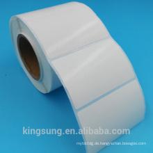 qualitativ hochwertige Papier Material Selbstklebeetikett Hersteller