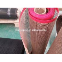 non stick heat resistant PTFE teflon mesh conveyor belt in 1mm