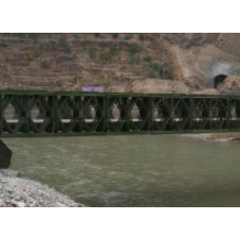 Excellent quality for Portable Steel Structure Bailey Bridge easy assembly steel structure bailey bridge supply to Pitcairn Manufacturer
