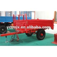Tractor de granja que inclina el remolque para la venta, inclinando el acoplado, remolque de la granja