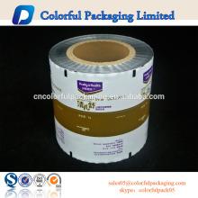 película de rollo de envasado de alimentos / película de envasado limitante de múltiples capas / bolsas de plástico rollo de película