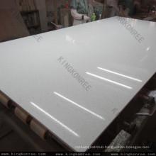 snow white marble quartz slab , quartz composite stone