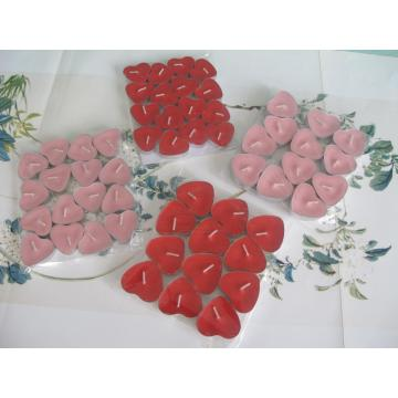 Relaxing Heart Shaped Scented Tealight Candle