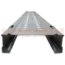 Plate-forme métallique d'échafaudage avec étagère portable en aluminium et plateforme Escaliers