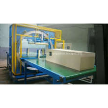 Dyehome Steel sheet horizontal stretch film wrapping machine