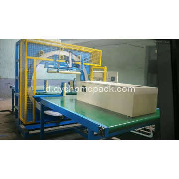 Dyehome Steel sheet horisontal mesin pembungkus film