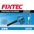 Herramienta portable del jardín de Fixtec soplador de la hoja del vacío 600W (FBL60001)