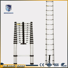 Aluminum emergency single telescopic ladder
