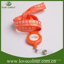 Custom cute retractable badge lanyard for kids