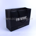 Luxury recyclable fashion gift paper bags with your own logo