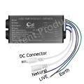 3-40W LED-Wandpack mit Notbatterie-Backup