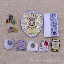 Алюминиевый сплав металла Сувенирный полицейский знак на продажу