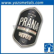 Emblema de emblema de carro metálico frente com adesivo 3M