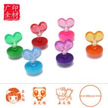 Пользовательские штамп для детей, милый Собственн-покрывая краской штемпель для детей, детские игрушки
