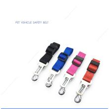 Harnais réglable de ceinture de sécurité de chat d'animal familier avec des fils de sécurité