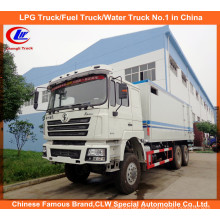 Heavy Duty Shacman 6 * 4 Cargo Camião Furgão
