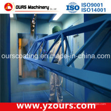 Manual Paint Spraying Booth for Steel Structures