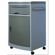 CE Qualification ABS Hospital Cabinets gray color with castors