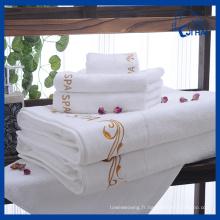 Ensembles de serviettes 100% coton 5PC (QHDS551)