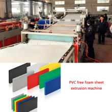 Sjsz80/156 PVC Free Foam Sheet Extrusion Machine