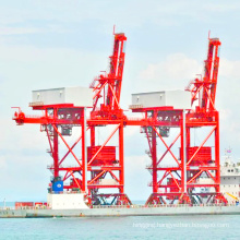 rail mounted quay quayside container gantry crane 50t