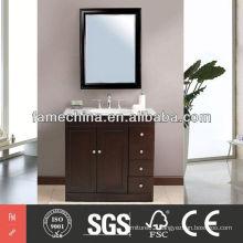 2013 Latest pvc cabinet bathroom High Gloss pvc cabinet bathroom