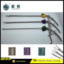 Cirugía laparoscópica de plástico ABS de polímero ligadura clip abrazadera applier aplicador Hem-O-Lok
