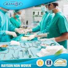 Vestido paciente disponible médico no tejido de la tela al por mayor del precio