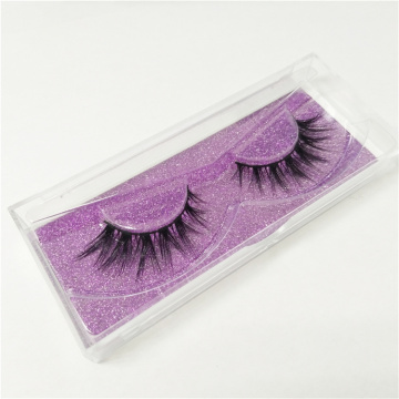 Billiga Glitter Plastic False Eyelash Packaging Box