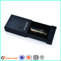 Custom Printed Black Drawer Box Packaging For USB