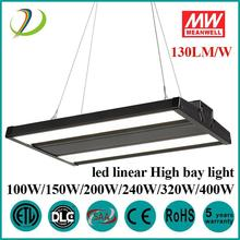 Led Linjär High Bay 200W MeanWell-drivrutin