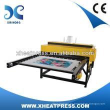 máquina de la prensa de la camiseta de la precisión, máquina de la prensa del calor camiseta, máquina neumática de la prensa del calor t-shirt