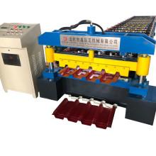 Aluminum panel rolling machine