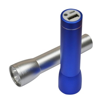 Torch Power banks met Logo Flashlight