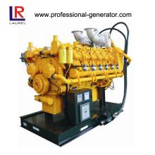 Gerador de gás de 625kw 50Hz refrigerado a água 1500 rpm