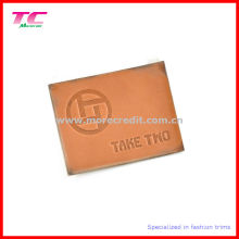 High Quality Real Leather Jeanswear Leather Label
