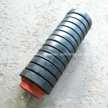 Стандарт ASTM/Сема/Дин/Ша стандартные резиновые воздействие ролика транспортера/влияние/ролик резиновый ролик
