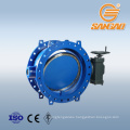 triple eccentric metal to metal butterfly valve flange dn200 butterfly valve pn25