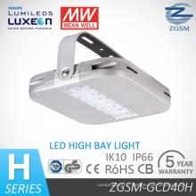 40Watts-240watts UL Dlc SAA CE énumérés lumière LED haute Bay avec détecteur de mouvement